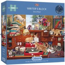 Writer's Block- 1000 Piece Jigsaw Puzzle
